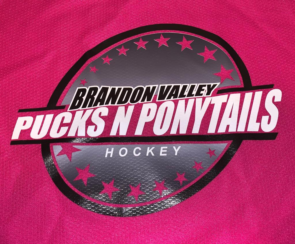 Girl Hockey Player