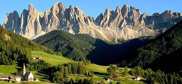 Bolzano Italy countryside