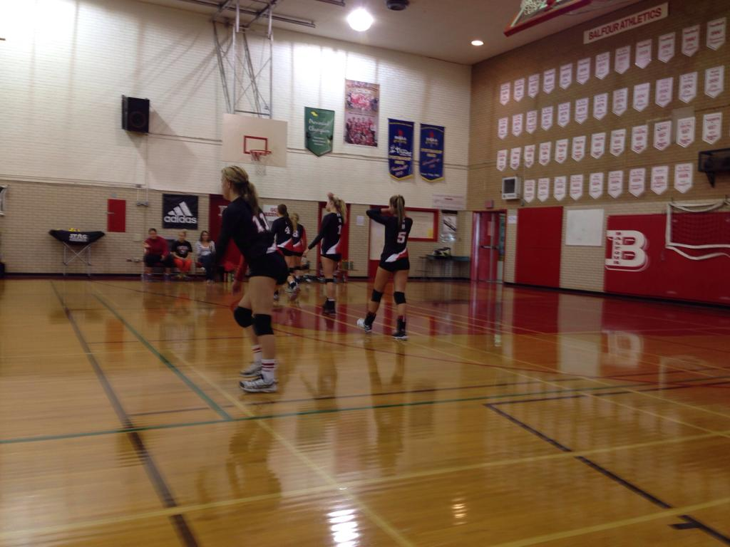 Sr. Girls Preseaon tournament action!