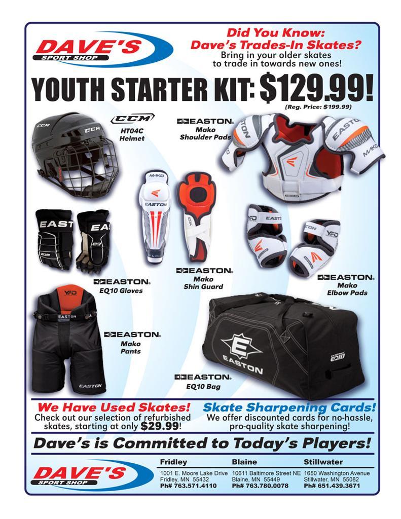 Dave's Sport Shop Youth Starter Kit