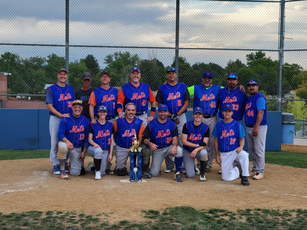 The 2021 American Division Champion Mets