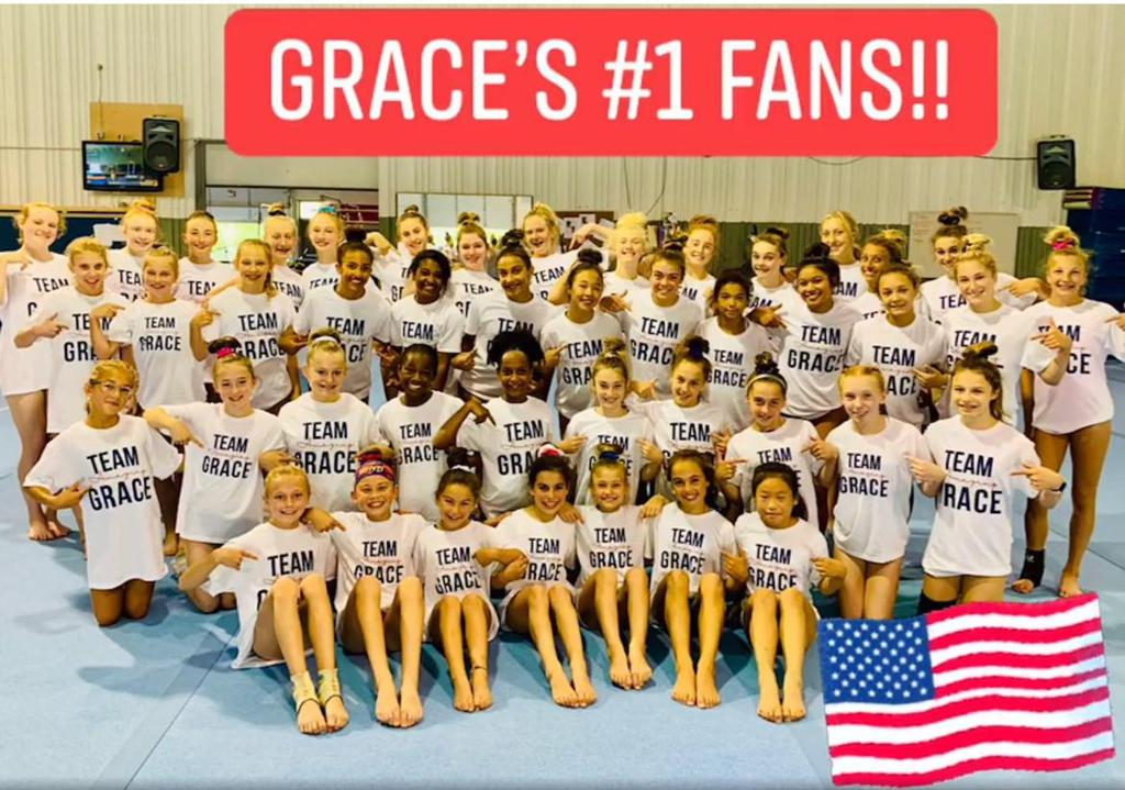 Jun24: Countdown to the Olympic Trials! 1 day away and supported by all of your #1 fans Grace! #teamgrace #shesgotthis #RoadToTokyo