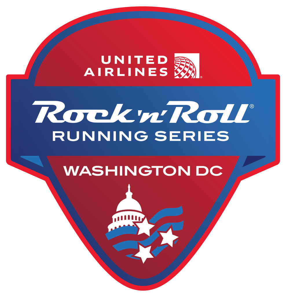 Rock 'n' Roll Washington D.C. Guitar Pick logo