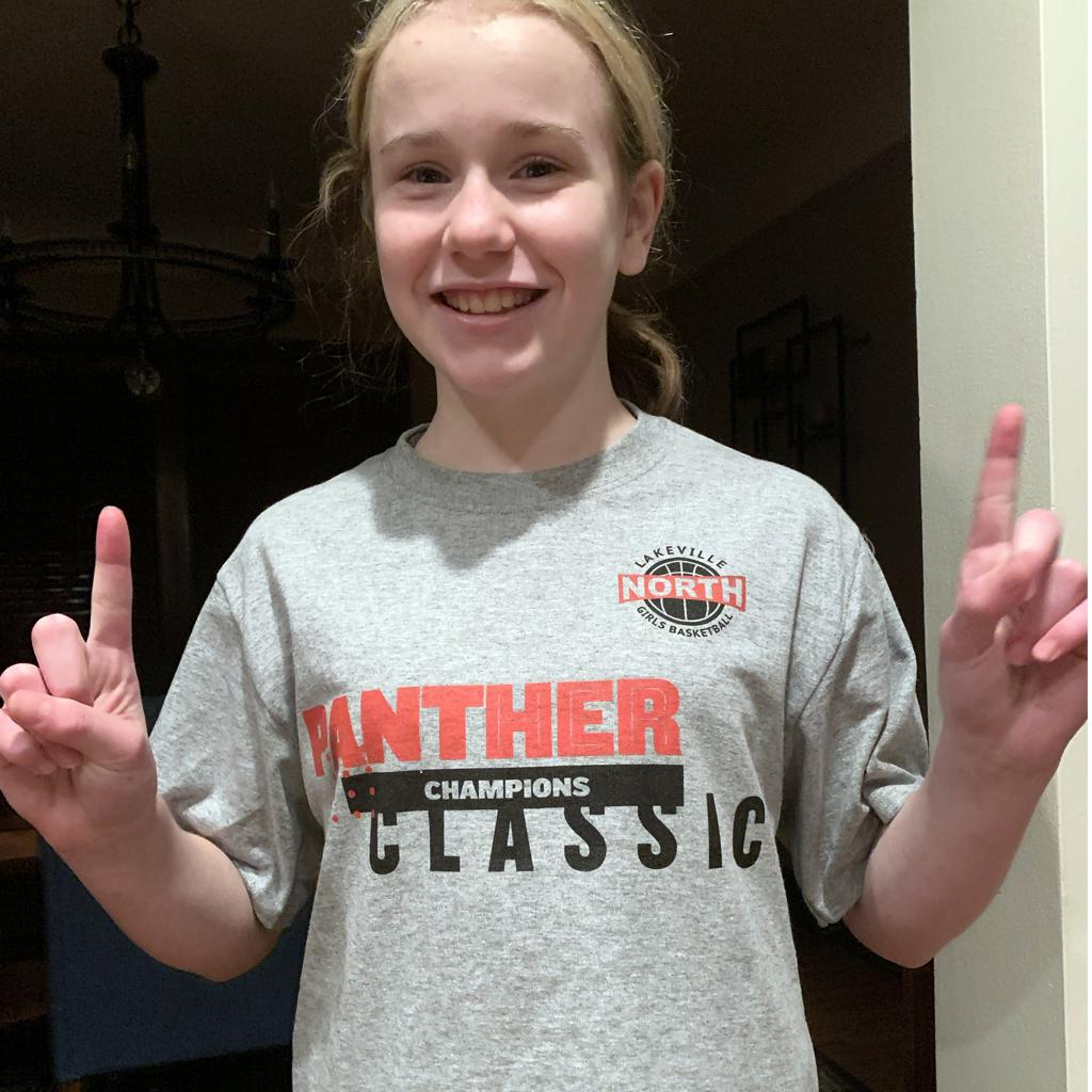 Mpls Lakers Youth Traveling Basketball Program Inc Girls 6th Grade Gold Lakeville Panther Classic in Lakeville, MN