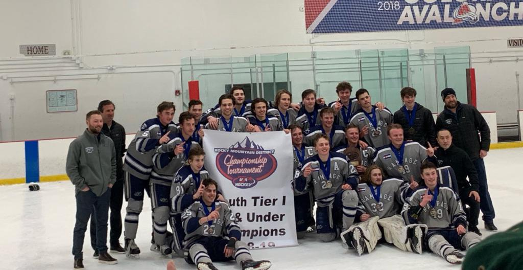 Colorado Rampage Hockey District Champions