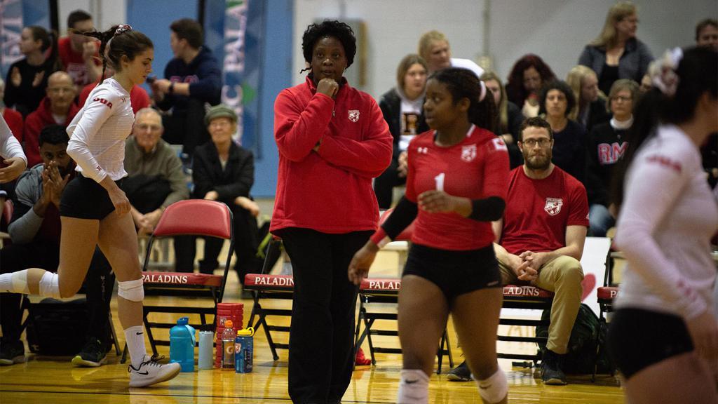 Joely Chrisitan - Head Coach RMC Paladins Women's Volleyball