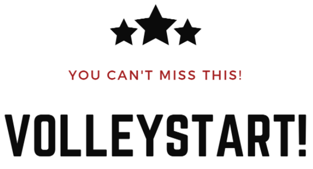 text you can't miss this volleystart!