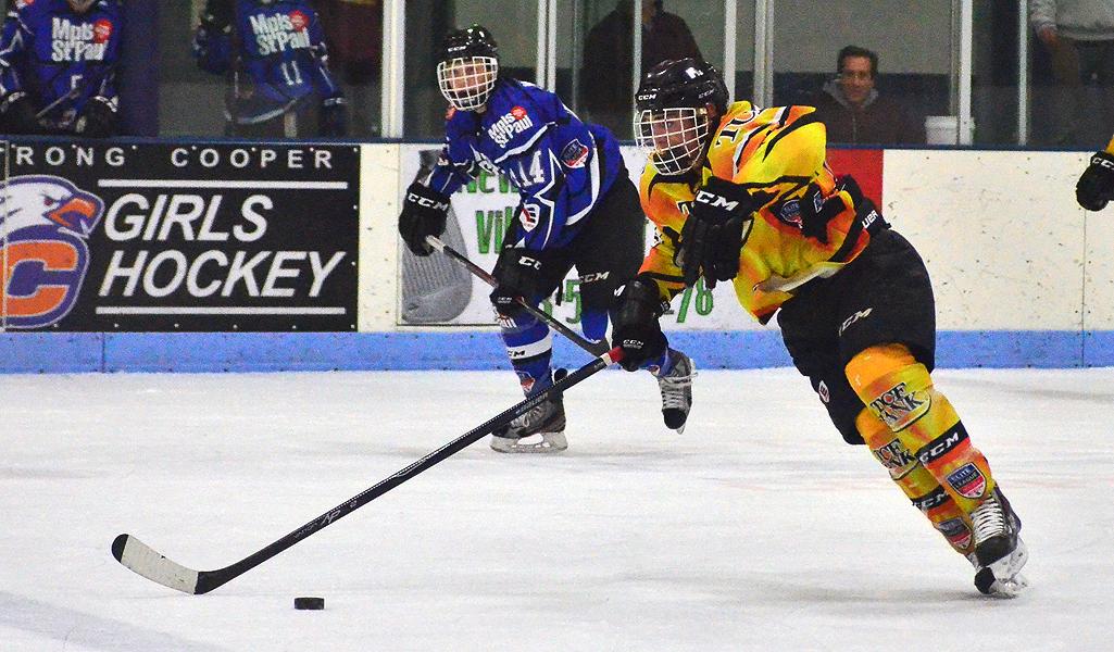 MN H.S.: Rosemount's Lucas Gillett - Slippery Scorer In Elite League Action