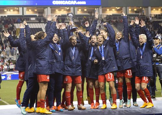 US Wins 7th CONCACAF Women's Championship