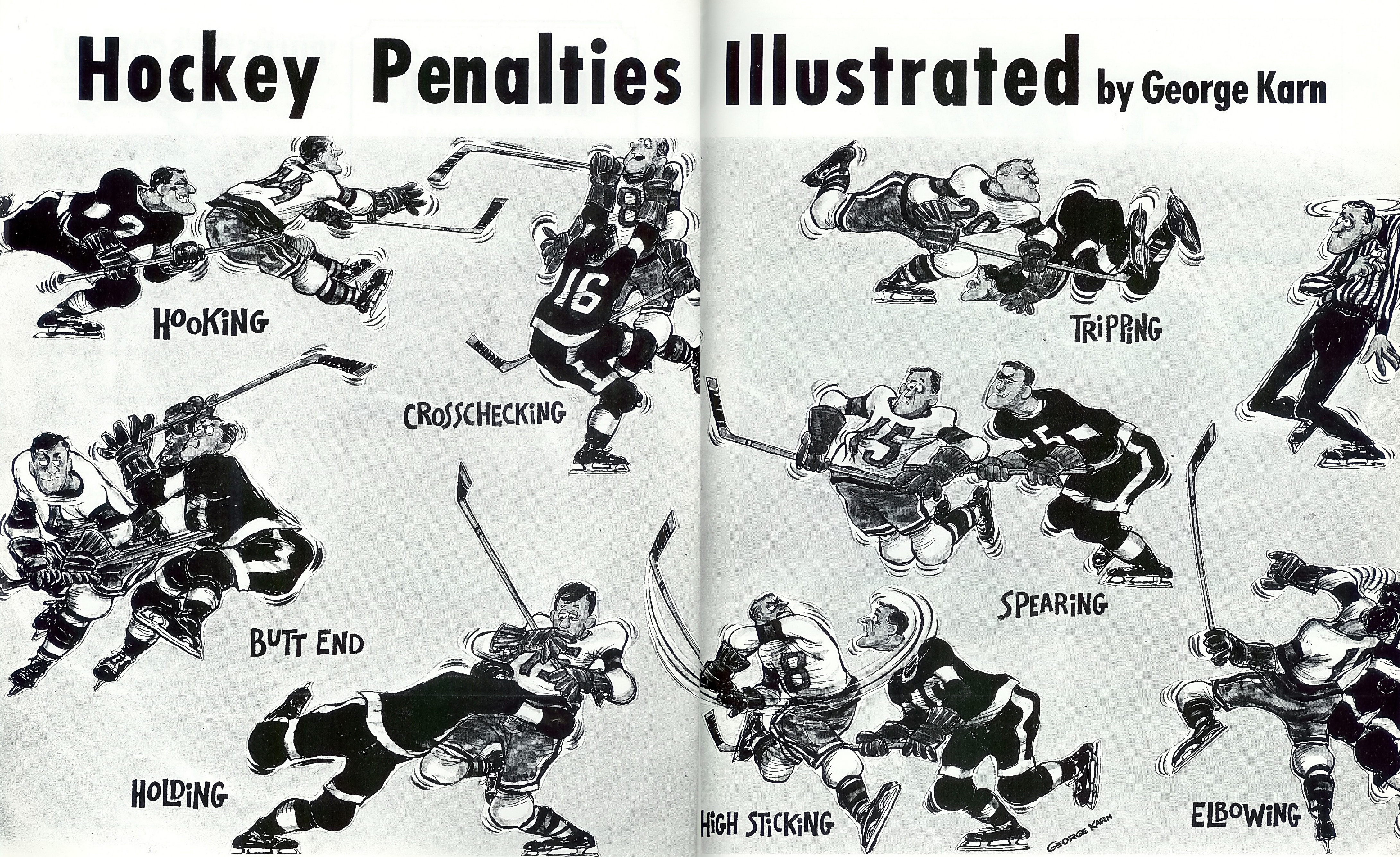 Ice hockey penalties