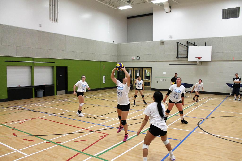 Volleyball Back Set