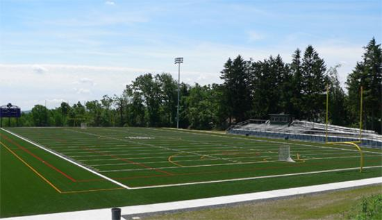 Holy Cross Field Turf