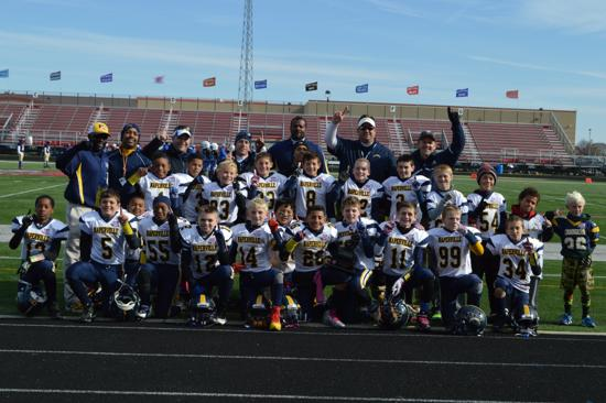 Coach Byrd's Junior Pee Wee Team - 2014 D1 Chicagoland Champs
