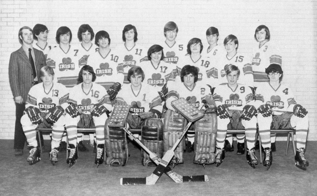 Rosemount Boys Hockey's First Team