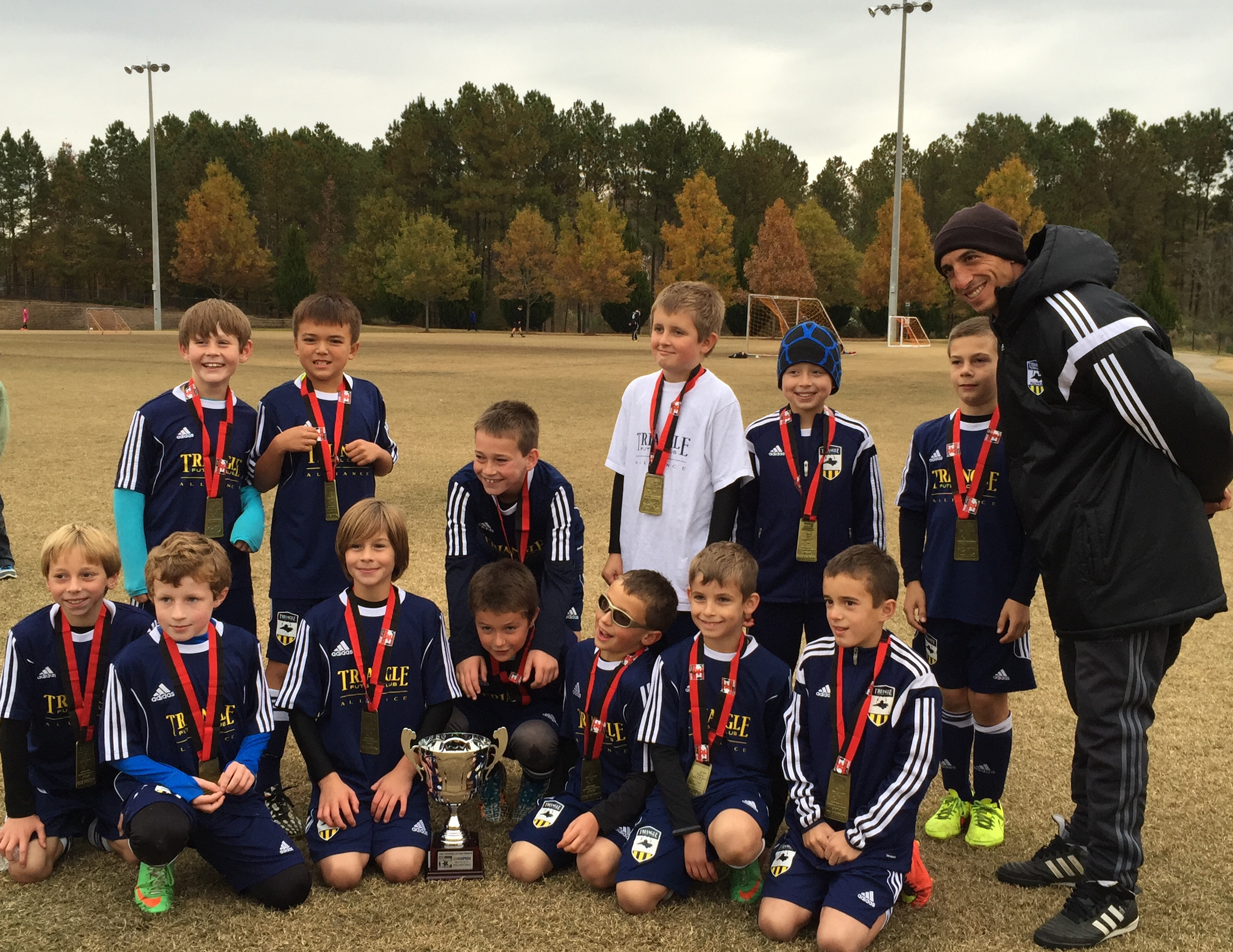 04DCH Navy Boys Champions at CASL Shootout