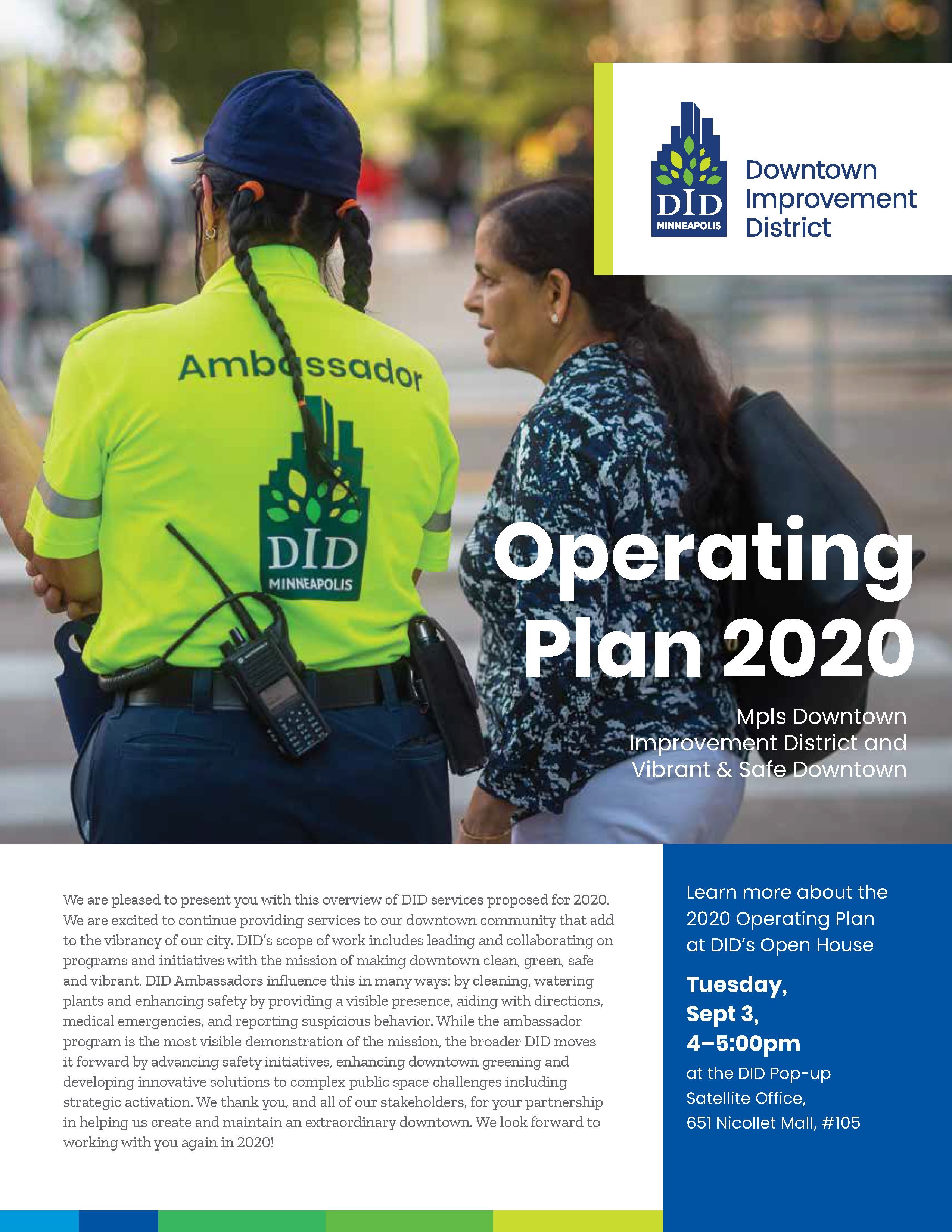Mpls DID 2020 Operating Plan