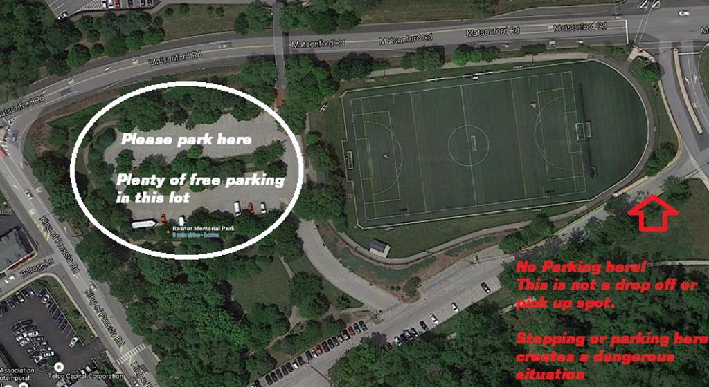 Where to Park for Radnor Practices