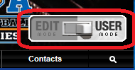 Edit/User mode toggle switch