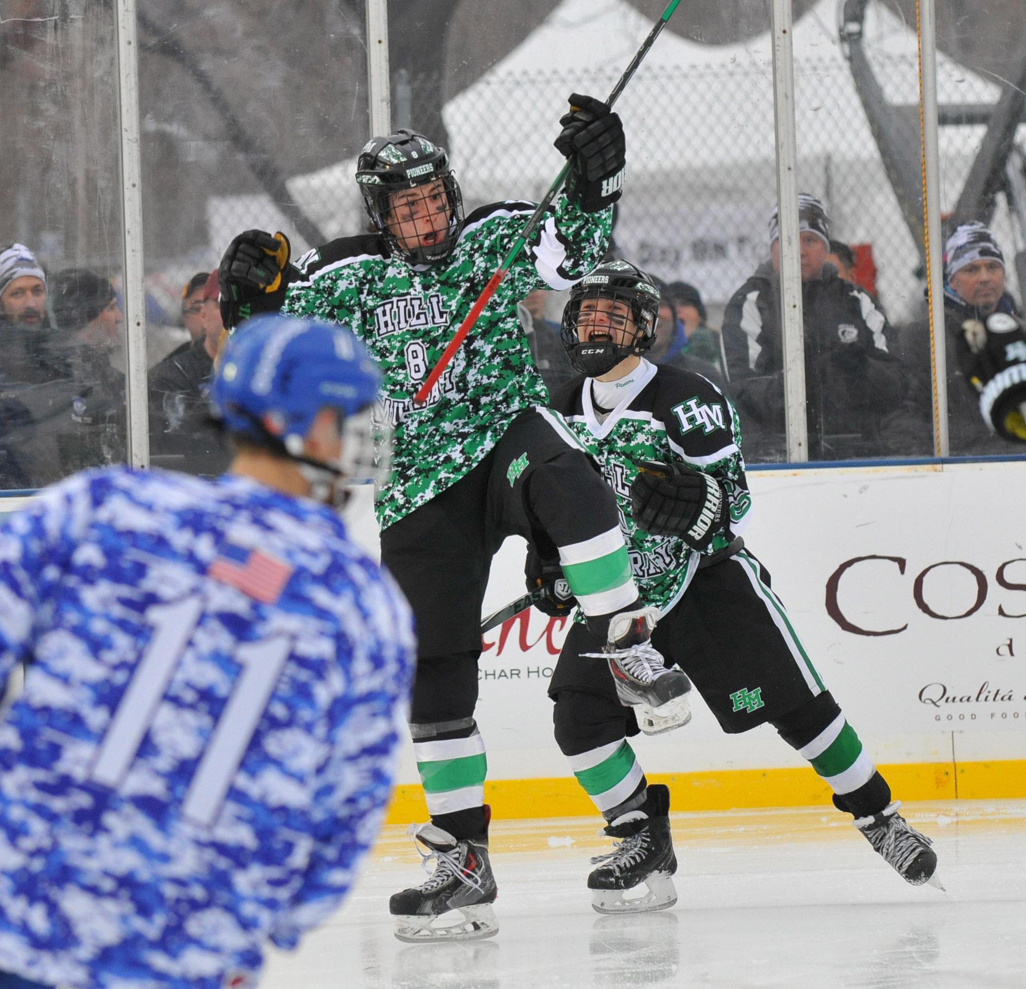 MN H.S.: Hockey Day Minnesota - Hill-Murray Defeats St. Thomas Academy In OT