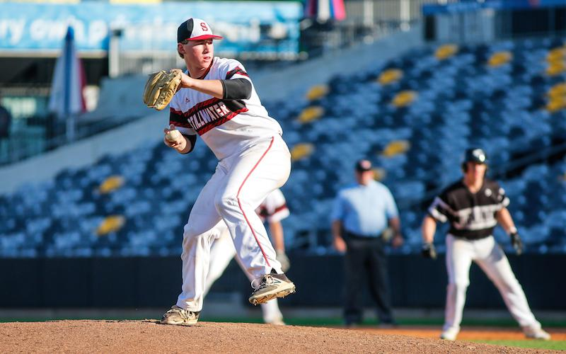 Defending Class 4A champion Stillwater faces rival Woodbury on April 26. Both feature elite starting pitching that's capable of carrying each team into the postseason. Photo by Mark Hvidsten, SportsEngine