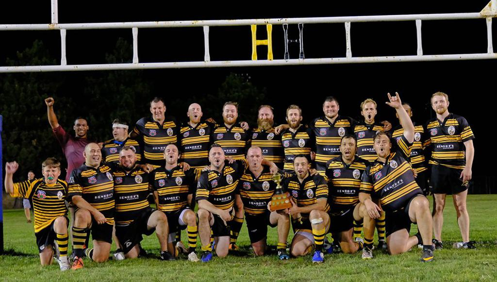 Hamilton Hornets RFC are the 2019 Abercarn Cup Winners!