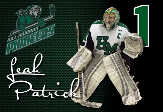 Leah Patrick Top 5 Ms Hockey Senior Goalie of the Year Finalist