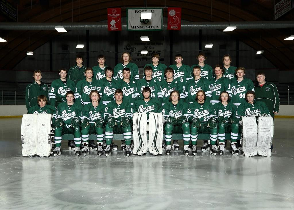 2014-2015 Roseau Rams Boys Hockey