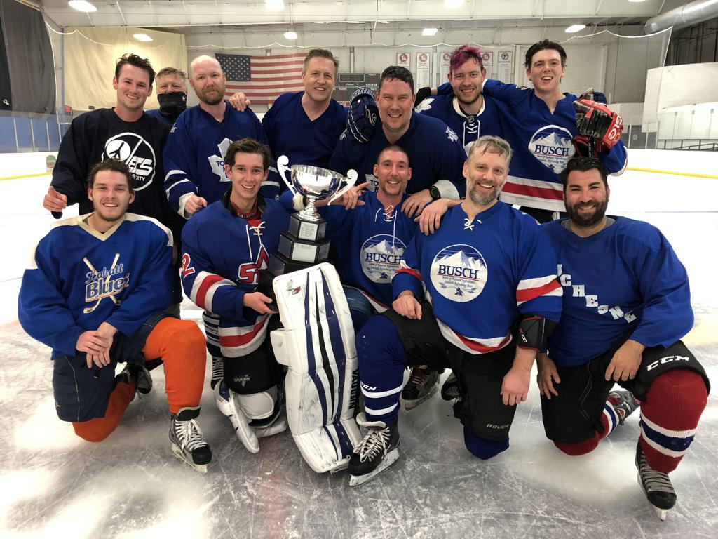 B League Champions - The Maple Leafs