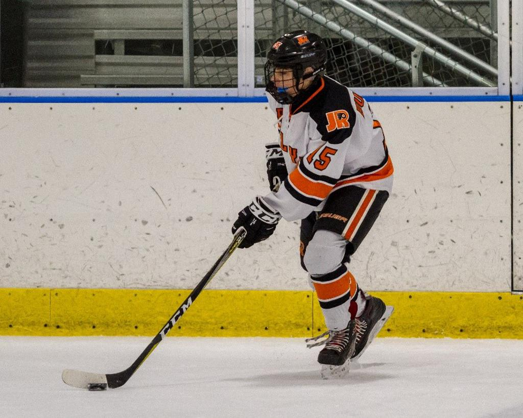 Kenny Duffield named Jr. Flyers Player of the Week for week ending January 6