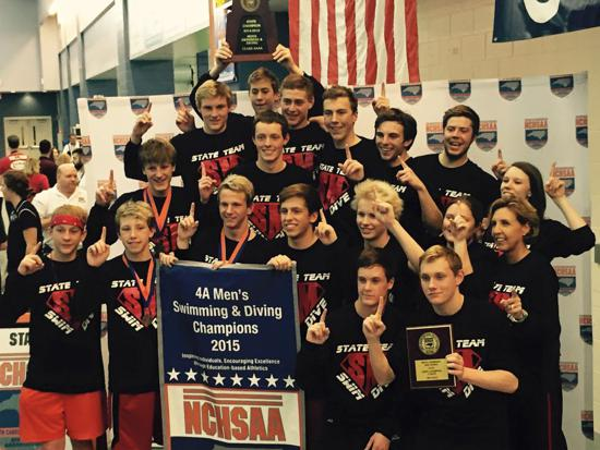 2015 NCHSAA Men's Swim & Dive Champions!!!