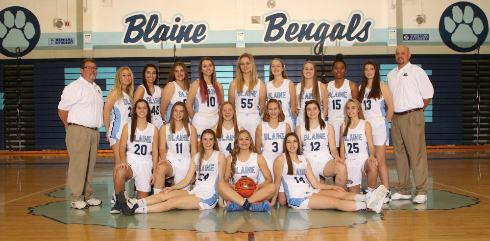 blaine girls jv varsity team