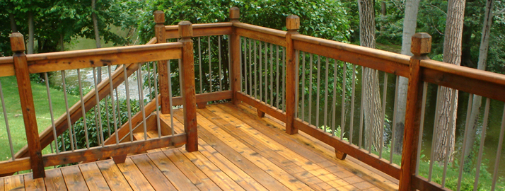 Deck Design and Deck Construction by Brock's Landscape - 905.822.3131