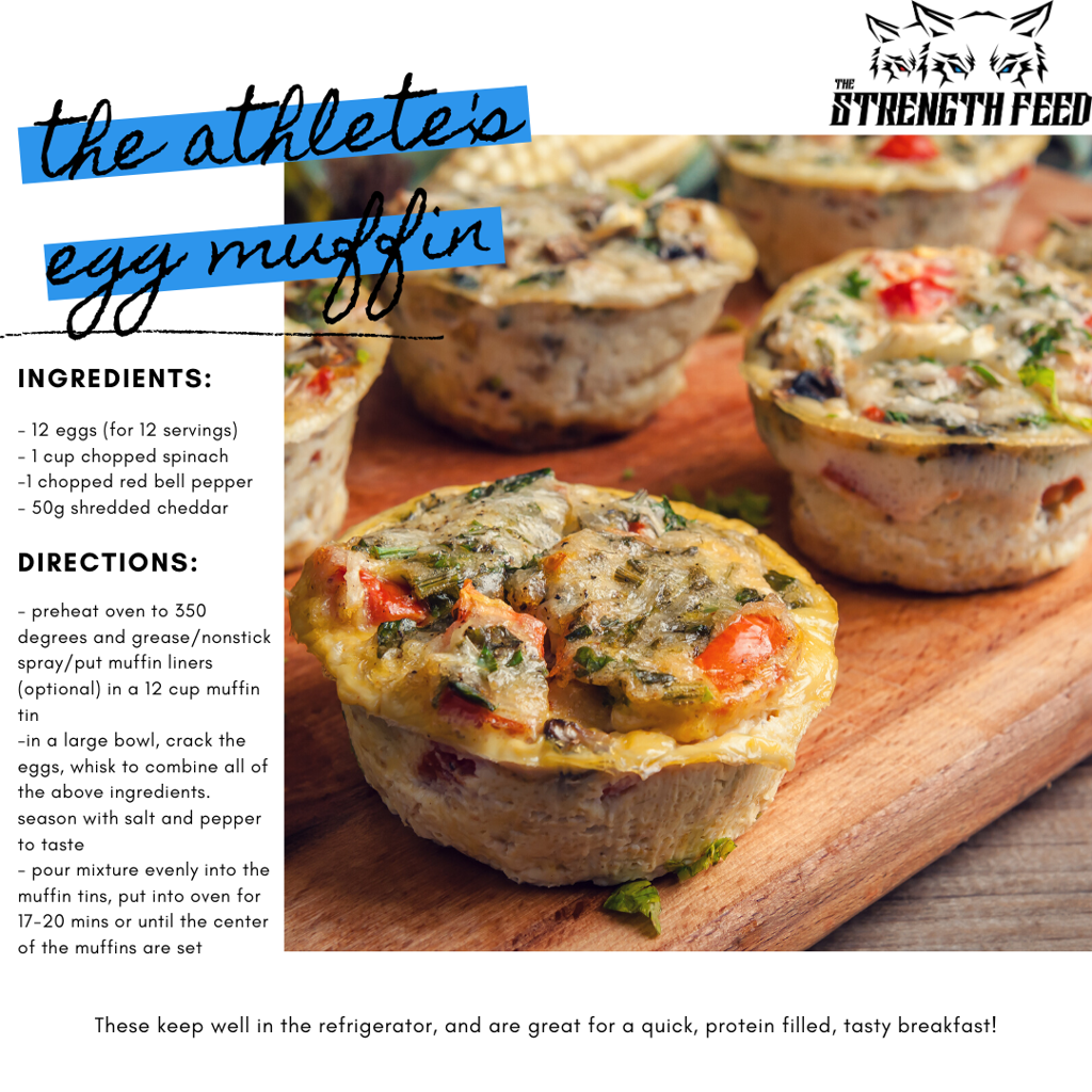 TSF Athletes Egg Muffin