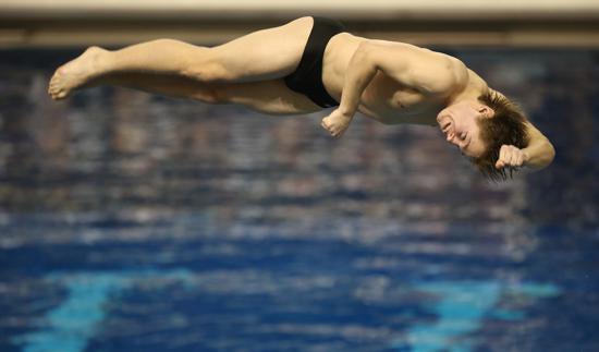 Above Board Excellence Befits Stillwater Diver Eason