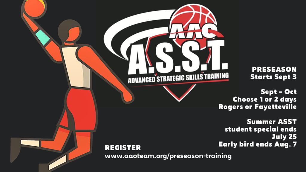AAO PreSeason Basketball Training - AAO ASST - Advanced Strategic Skills Training
