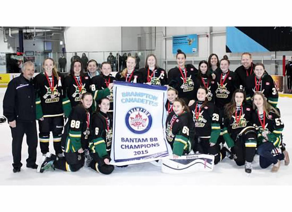 Brampton Tournament Gold Medal Winners!!!!