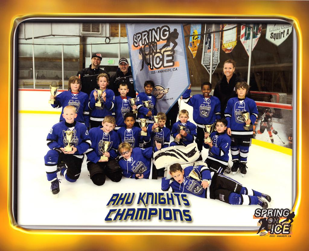 Mite White - Anaheim 2015 Spring On Ice Champions