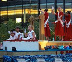 Aquatennial, Sponsors, Target, Target Fireworks, CenterPoint Energy, Torchlight Parade
