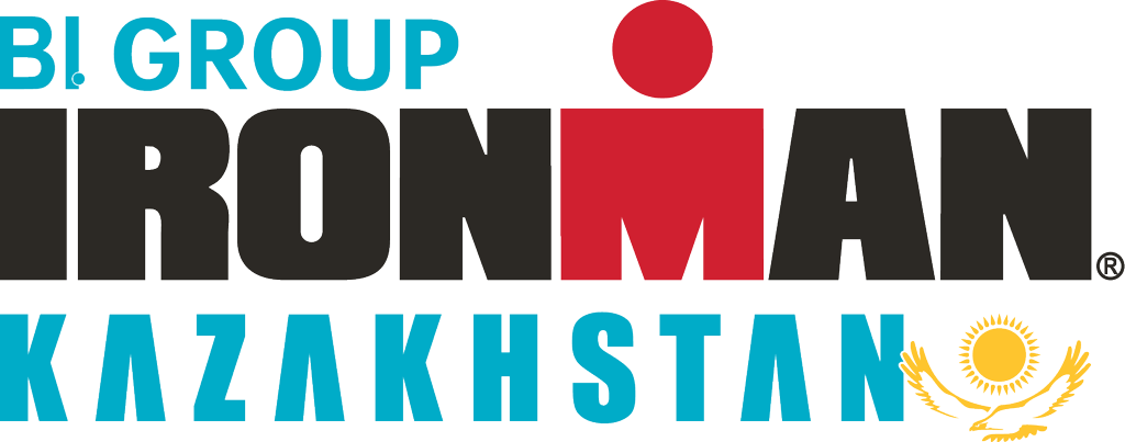official BI GROUP IRONMAN Kazakhstan race logo