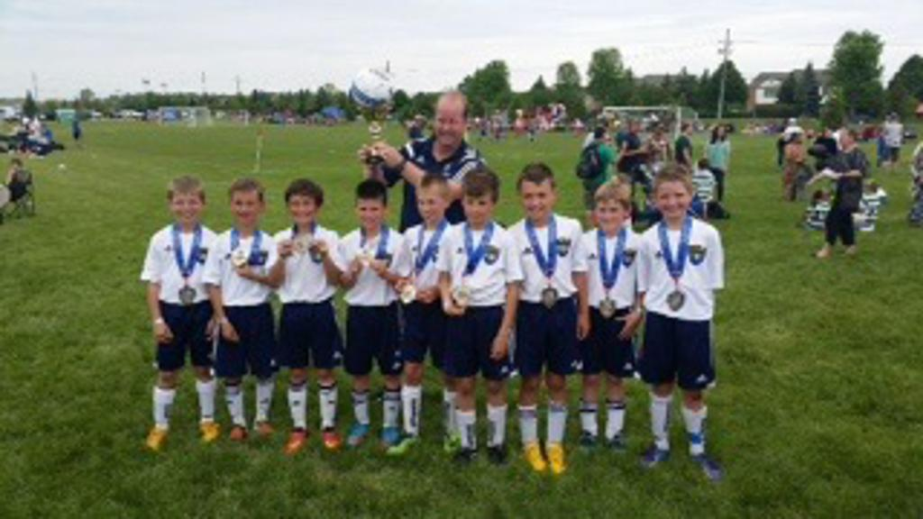 U10 Boys 2015 Canton Cup Champions! Congrats Team and to Coach Jeff!  Lyon FC Rules!