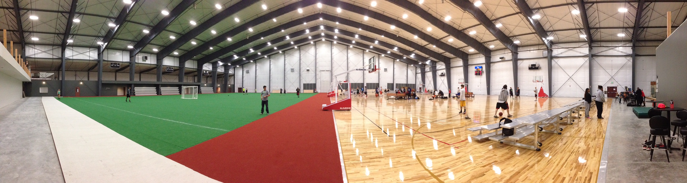Nw sports hub for Indoor facility design