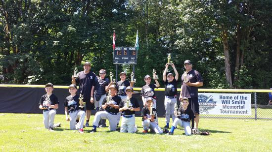 NL Padres Take 1st place in the Mosquito Tier 2 Playoffs