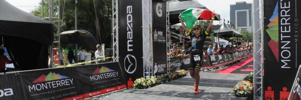 Winner winner, chicken dinner at IRONMAN 70.3 Monterrey