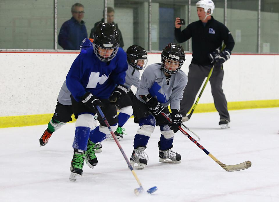 USA Hockey data show participation at the 8U level in Colorado is up 28.9% over five years ago, a result of efforts by USA Hockey and local organizations. Photo by Cheryl A. Myers, @cherylamyers