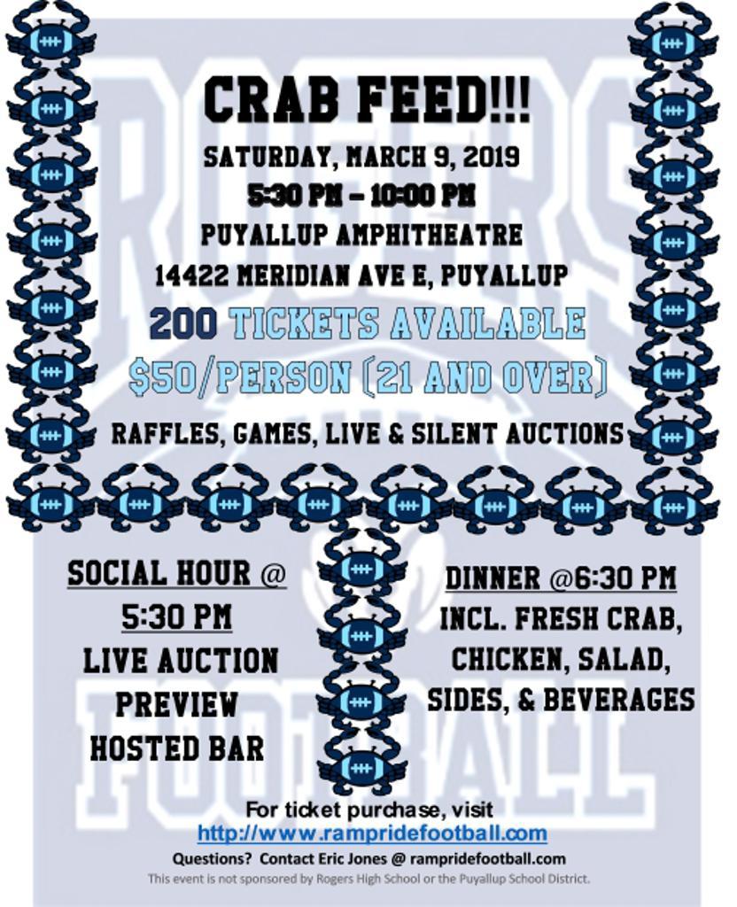 Crab Feed Flyer
