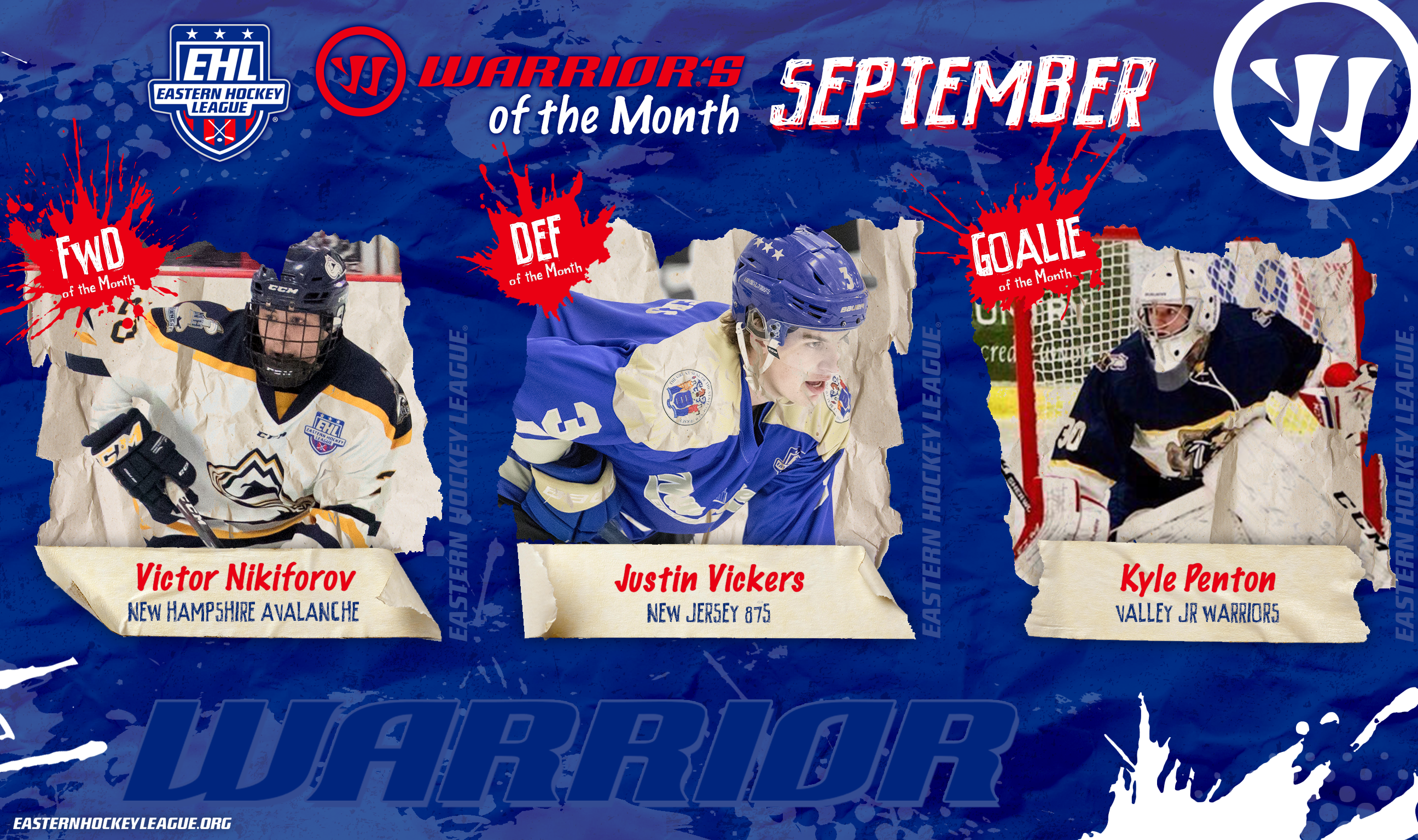 EHL Stars of the Month