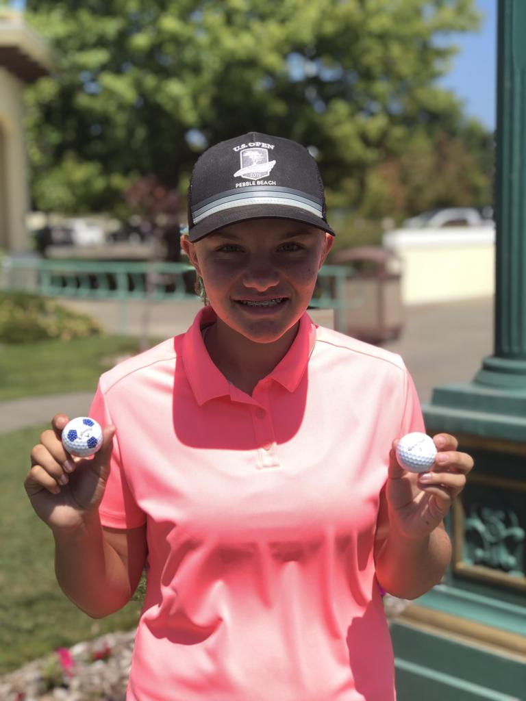 Lillie Dayton made TWO holes-in-one this PGA Jr. League season! Her first was July 26 from 97 yards with a Pitching Wedge, and her second came August 8 from 139 yards with an 8-iron.