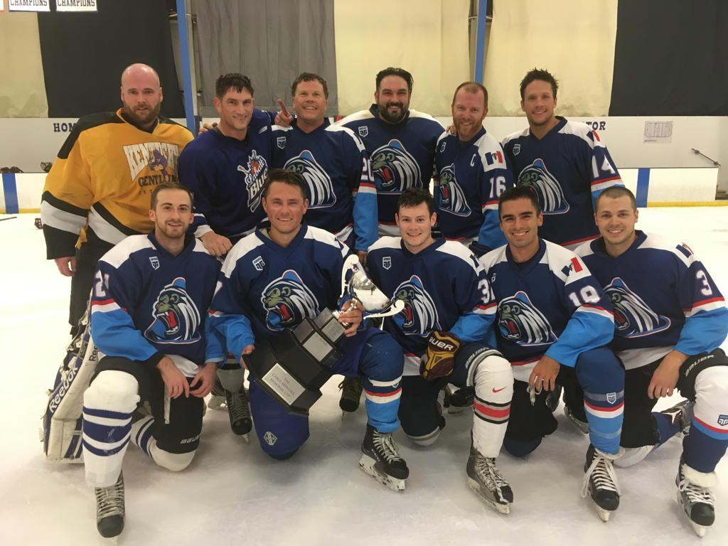 B League Norris Division Champions - Yetis B team