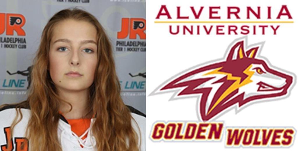 19UAAA Defenseman, Lauren Czymek, commits to Alvernia University (NCAA D-III)