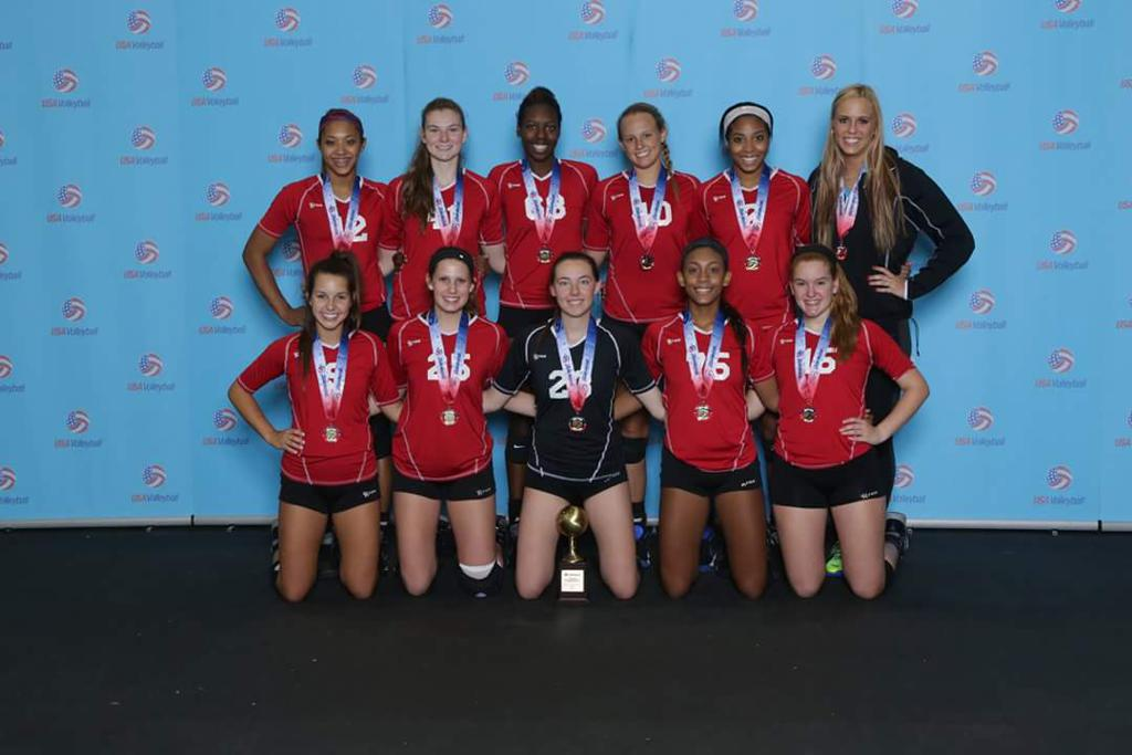 2015 USAV National Champions 17 Rox